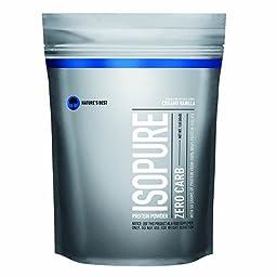 Isopure Zero Carb Protein Powder, Creamy Vanilla, 1 Pound