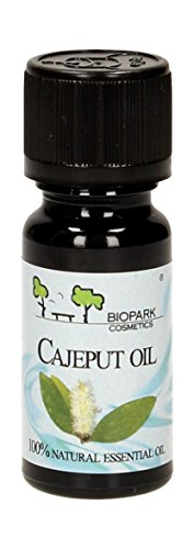 Biopark - Olio Essenziale di Cajeput - Malaleuca - Astringente e Purificante Pelle e Capelli 10 ml