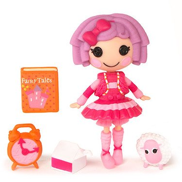 Mini Lalaloopsy 3 Inch Figure with Accessories Pillows Story Time