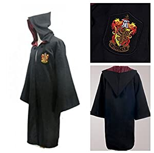 Harry Potter Adult Robe Cloak Costume Cospaly Fancy Dress Gryffindor XL