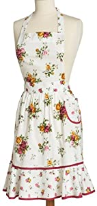 Old Country Rose Apron