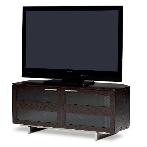 BDI Avion 8925 Low Profile Corner Entertainment Cabinet, Espresso Stained Oak (Stereo Cabinet Low Profile compare prices)