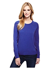 M&S Collection Cashmilon™ Crew Neck Jumper
