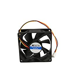 3Pins Power Interface 8cm Computer Chassis Cooling Fan