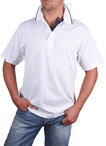 Ferre Polo Uomo Polo Manica Corta Bianco - cotone, bianco, 100% cotone 100% cotone, Uomo, L