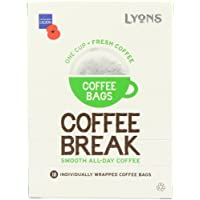 Lyons Coffee Break Coffee Bags 125 g (Pack of 4)