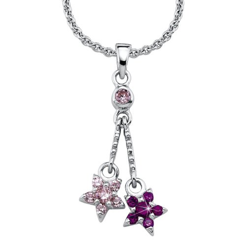 Prinzessin Lillifee 397377 Children's Claw Set  Cubic Zirconia 39.0 centimetres 4.5 grams Sterling Silver 925 Necklace
