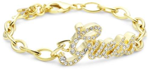 Guess Damen-Armband Metall mit Logoanhänger UBB81002 thumbnail