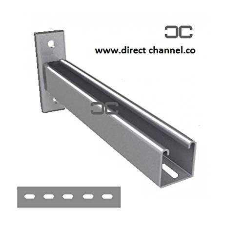 300mm Slotted Cantilever Arms (Unistrut Type P2663) - CLA300S by Direct Channel Cantilever Arms