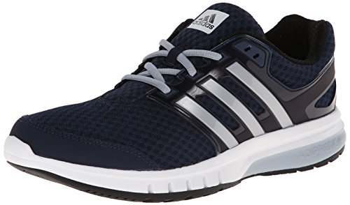 adidas Performance Men's Galaxy Elite M Running Shoe,Collegiate Navy/Silver/Light Grey,8 M US (Adidas Adiprene Shoes compare prices)