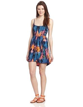 (新)Hurley鹅黄颜色吊带迷你裙 Juniors Hazel Dress Cami 尺码全$45