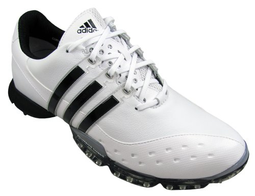 adidas Powerband 3.0 Golf Shoe (Black/Black/Silver)