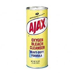 Ajax 14278 21-Ounce Heavy-Duty Formula Oxygen Bleach Cleanser (Case of 24)