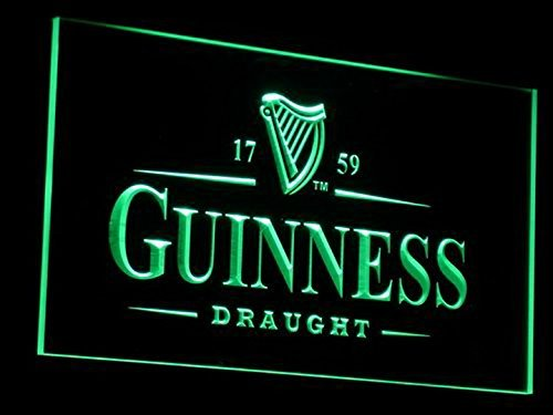 Guinness Vintages Beer Bar LED Neon Sign Man Cave A002-G (Vintage Neon Sign compare prices)