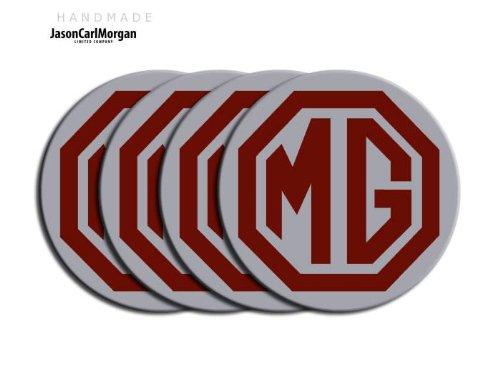 MG ZR Noir Argent LE500 & Jante en alliage Bouchon Badges (CLR80mm)