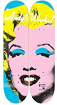 ANDY WARHOL MARILYN MONROE Skateboard Deck 2-PACK SET Alien Workshop Decks