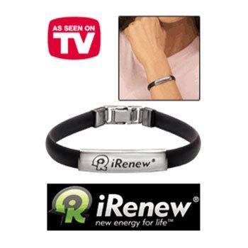 iRenew Bracelet – Black/Silver (One Size)