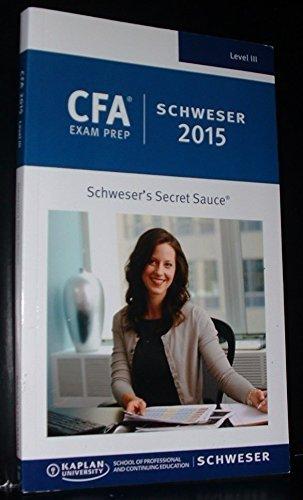 Cfa Level 3 Secret Sauce | Browse Cfa Level 3 Secret Sauce