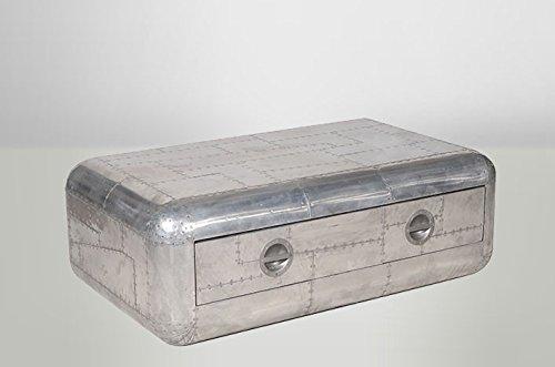 Casa-Padrino-Art-Deco-Designer-Flieger-Couchtisch-Aluminium-130-x-80-x-46-cm