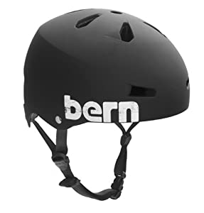 BERN Macon Summer Distress Logo EPS Helmet by Bern