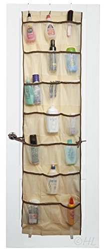 Over-the-Door 42-Pocket Organizer (Beige)