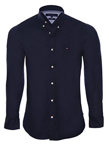 Hemd Herrenhemd Tommy Hilfiger (XL, Navy)