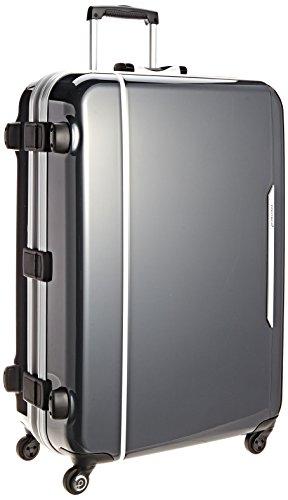 [プロテカ] Proteca 日本製スーツケース レクト 93L 3年保証付き <リサイクルキャンペーン(6/1~8/31)対象> 00543 02 (ガンメタリック)