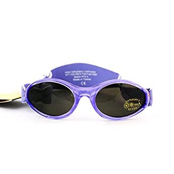 Baby Banz Unisex - Baby Sonnenbrille ABBLV-Lavender Tulip, Gr. one size (0-2 Jahre), Rosa (Spring Flowers)