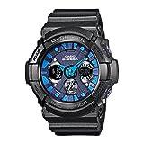カシオ CASIOGショック ジーショック G-SHOCK GA-200SH-2A 海外モデル Metallic Colors メタリックカラーズ大型ビッグフェイス メンズ 腕時計 男性用 時計 ウォッチ 【逆輸入品】