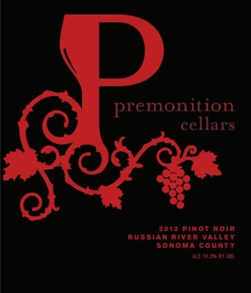 2012 Premonition Cellars, Pinot Noir, Russian River Valley 750Ml