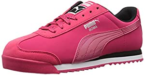 PUMA Women's Roma Deep Summer WN'S Classic Style Sneaker, Rose Red/Rose Red, 10.5 B US