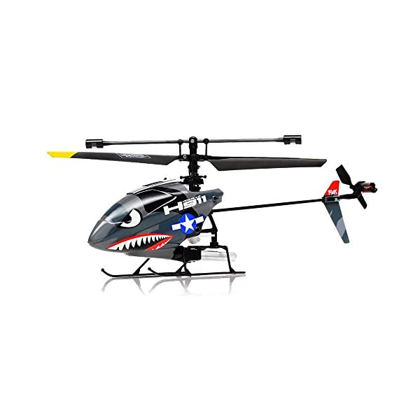 Hero-RC-H911-24GHZ-iRocket-4-Channel-Fixed-Pitch-Ready-to-Fly-Helicopter-with-Battery-Balance-Bar-Main-Blade-Connect-Buckle-Tail-Blade-and-USB-Charger