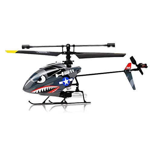 Hero RC H911 2.4GHZ iRocket 4 Channel Fixed Pitch Ready to Fly Helicopter with Battery, Balance Bar, Main Blade, Connect Buckle, Tail Blade and USB Charger (Mini Rc Helicopter Blades compare prices)