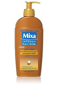 Mixa Intensif Peaux Sèches Lait Nutritif Satinant au Karité 250 ml