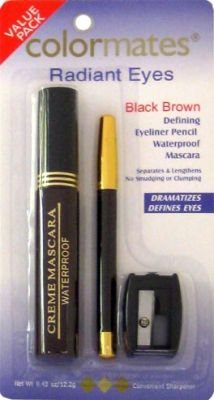 Color Mates Radiant Eyes Eyeliner & Pencil Sharpener (4-Pack)