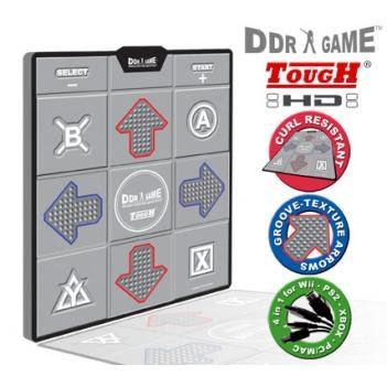 New DDR Tough Curl Resistant Groove Texture HD Super Deluxe Dance Platform for PS/PS2 Wii Xbox & PC