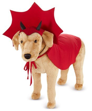 Devil Dog Pet Costume - Large