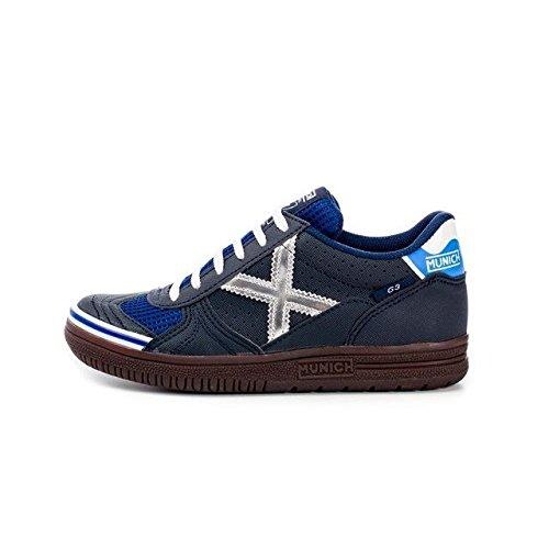 Munich - sneakers  da unisex adulto, (marino/plata), 44