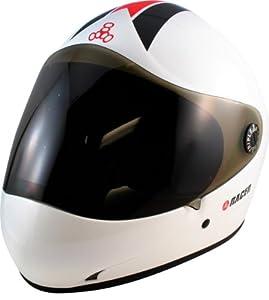 Triple 8 Racer II Black Gloss Full Face Downhill Longboard Helmet Size S M by Triple 8
