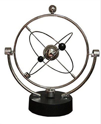 Doubtless Bay Plastic Tellurian Newtons Cradle Ball Pendulum Balance Balls - 1