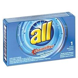Diverseyiuml;iquest;frac12; quot;All Ultra Coin-Vending Powder Laundry Detergent, 2oz Box, 100/Cartonquot; Unit of measure: CT, Manufacturer Part Number: VEN 2979267