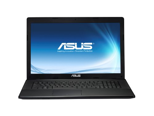 Asus F75A-TY205H 43,9 cm (17,3 Zoll) Notebook (Intel Pentium 2020M, 2,4GHz, 6GB RAM, 750GB HDD, Intel HD, DVD, Win 8) schwarz
