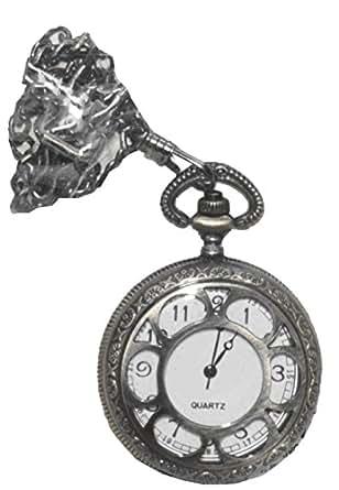 Forum Women's Steampunk Deluxe Pocket Watch, Bronze, One Size