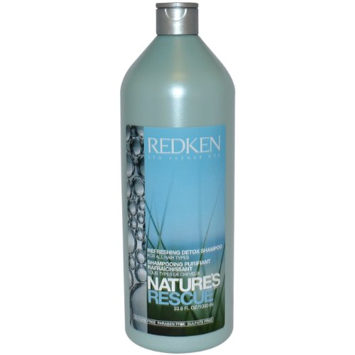 Redken Natures Rescue Refreshing Detox Shampoo for Unisex 33.8 Ounce