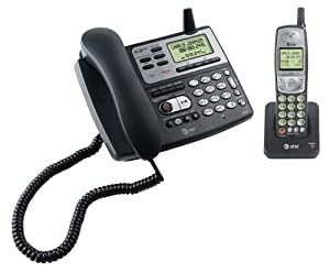 AT&T E5827 - 5.8 GHz Corded / Cordless Phone w/Answering System