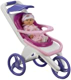 American Plastic Toy 3-in-1 Stroller
