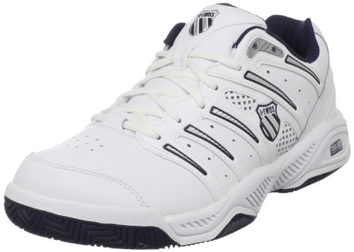 Kswiss Men's Uproar white/navy/silver Tennis Shoe 02664-167-M 9.5 UK
