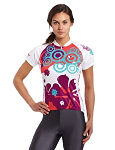 Pearl Izumi Women's Select LTD Short Sleeve Jersey, 70'S Paradise Pink, X-Small