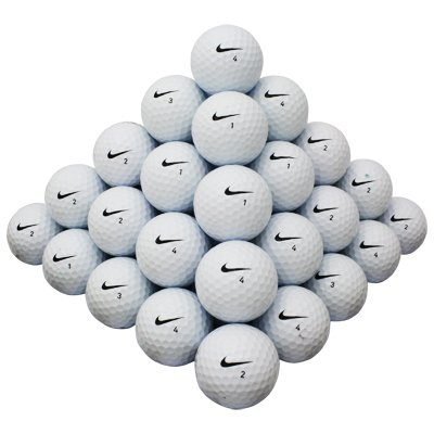 AAA Nike Mix 100 Ball Pack used golf balls