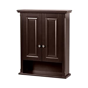 Foremost PAEW2229 Palermo Espresso Bathroom Wall Cabinet Closet